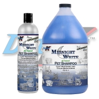 Double K Groomers Edge Midnight White Shampoo, 473ml