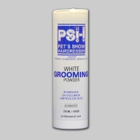 PSH white grooming powder